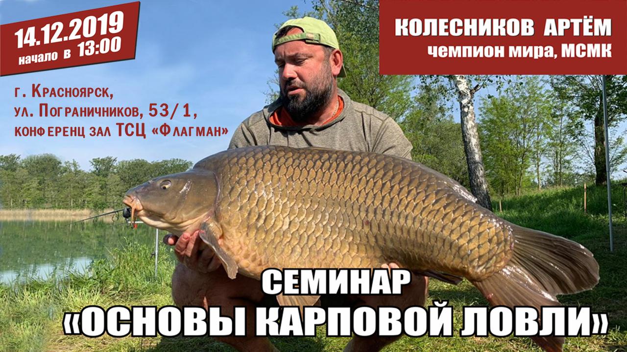 Семинар Артёма Колесникова в Красноярске!