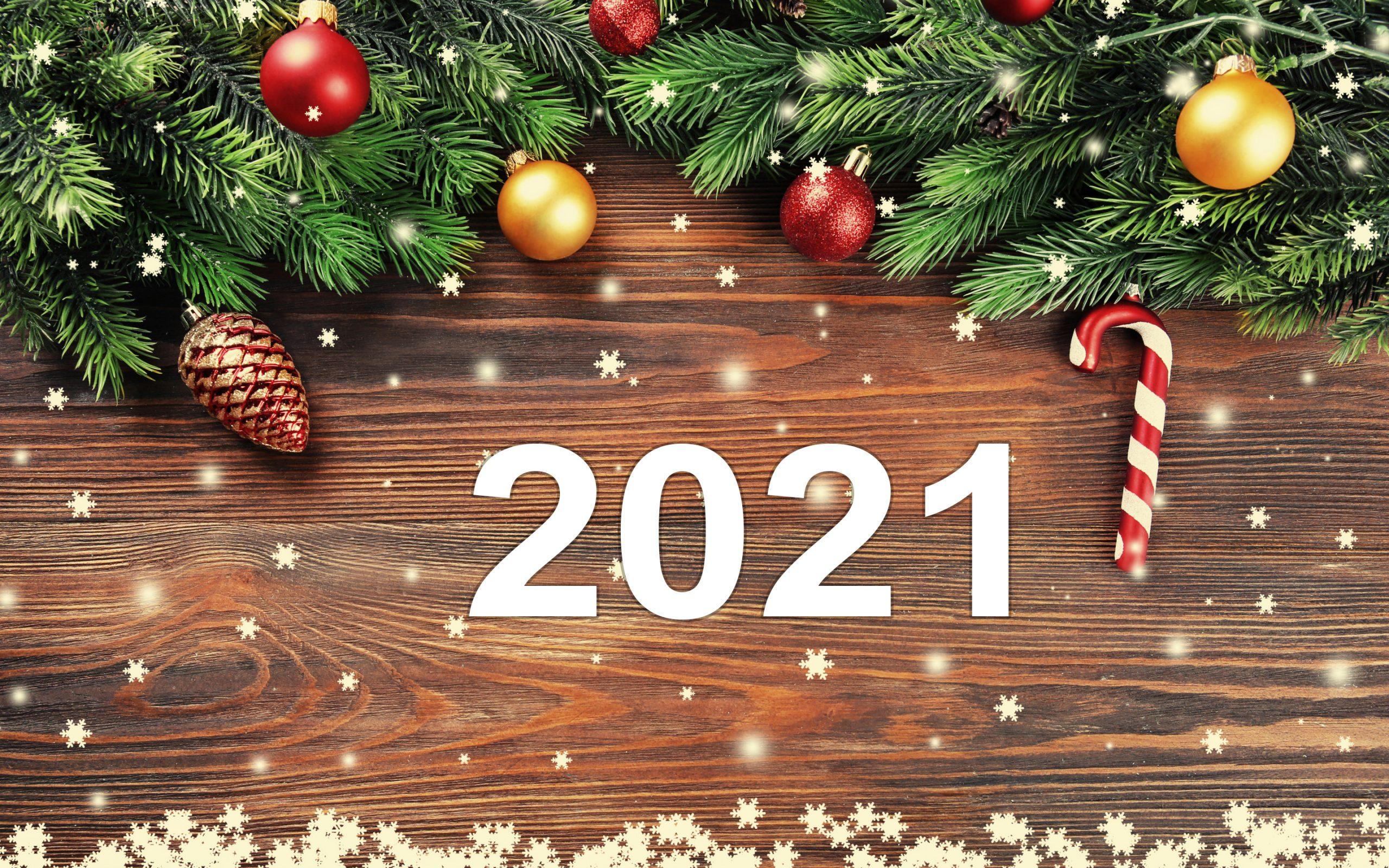 С Новым, 2021 годом!